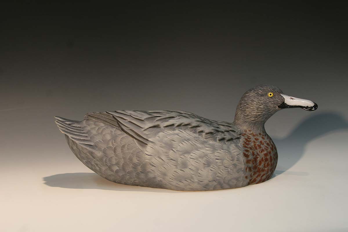 Wildlife Art By Dave Alexander Blue Duck Decorative Decoy